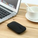 Black Ultra Thin Bluetooth 3.0 Wireless Rechargeable Mouse VMW-181