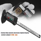 Digital Caliper 0-100mm/0.2mm Carbon Fiber Composites MM & Inch Caliper