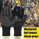 Anti-Vibration Mechanical Work Gloves Shockproof Reducing For Drilling Miner - L