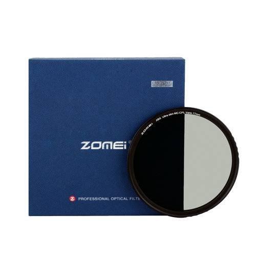 ZOMEI Ultra Slim CPL Circular Polarizing Polarizer Lens Filter for Canon Nikon 55mm