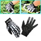 Professional Riding Gloves Skeleton Bone Slip-resistant Full Finger Gloves