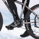 Waterproof Cycling Shoe Covers Warm Bicycle Bike Overshoes Fleece Thermal Size:2XL(27.5-28cm)