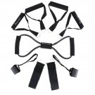 15Pcs Men Women Resistance Bands Set for Yoga Pilates Workout Useful to exercise yourself.