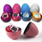 4PCS Candy Colors  Dinosaur Egg Virtual Cyber Digital Pet Game Toy Electronic Pet Christmas Gift