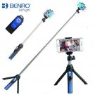 Ulanzi 3 in 1 Selfie Stick Tripod with 360° rotation Phone Clip Mount and Remote