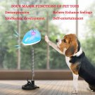 Pet Dog Cat Swinging Leakage Puppy Interactive Funny Food Dispenser Toy Tumbler