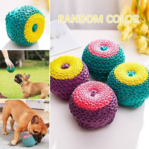 Pet Dog Ball Rubber molar Toy Dog chewing toy Dogs Play Toy Water Storage Ball