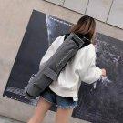 Women Men Portable Yoga Mat Bag Carrier Casual Shoulder Zipper Sport Bag Grey