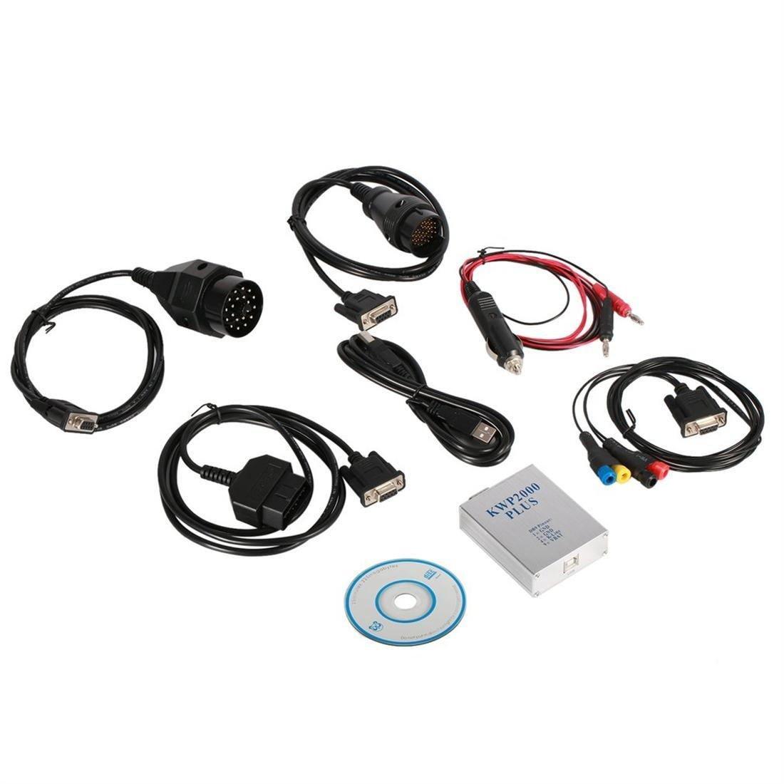KWP2000 Plus Car Engine Diagnostic Tools OBDII OBD2 ECU Chip Tuning Tool