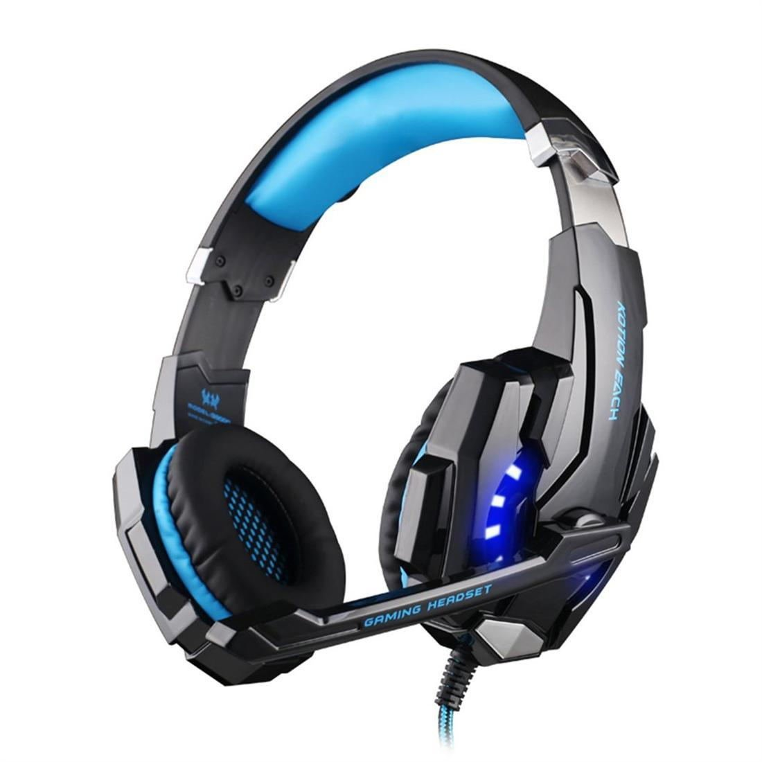 Fashion G9000 USB 7.1 Surround Gaming Headset LED Headband Gamer Headphones