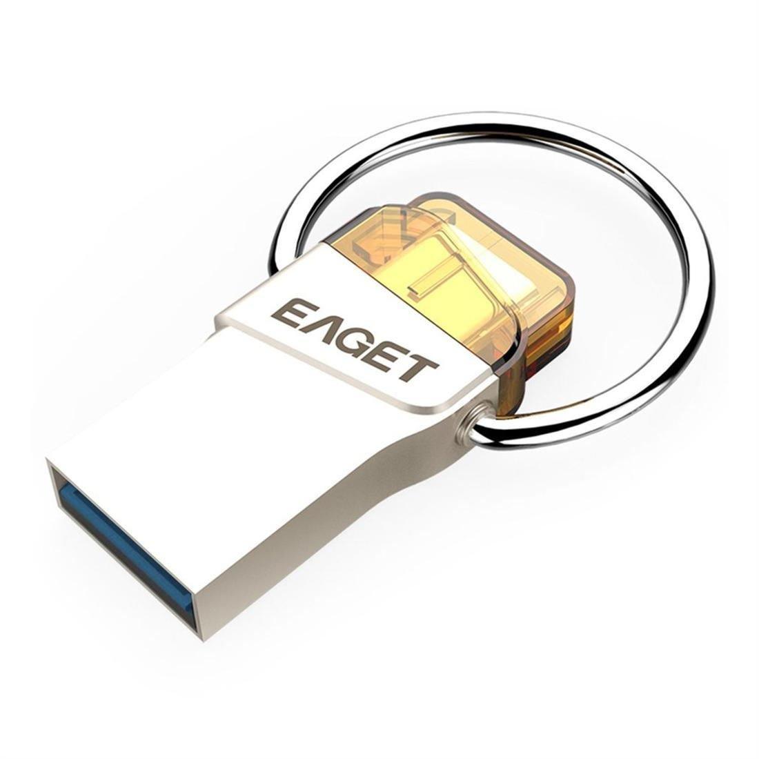 EAGET CU66 Type-C USB 3.0 OTG Flash Drive Mini Pendrive Dual Purpose U-Disk
