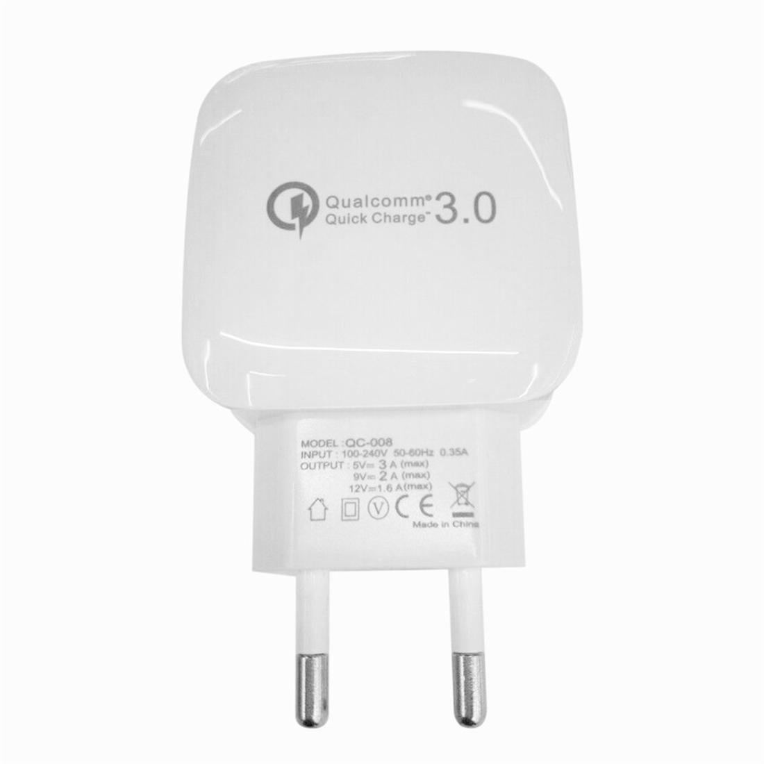 Universal Quick Charge QC 3.0 Home Travel Rapid Wall Charger Switching Adapter
