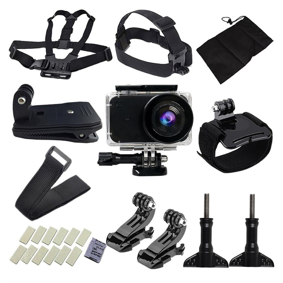 Camera Accessories Kit for Xiaomi Yi Action Video Camera Diving Wear Set