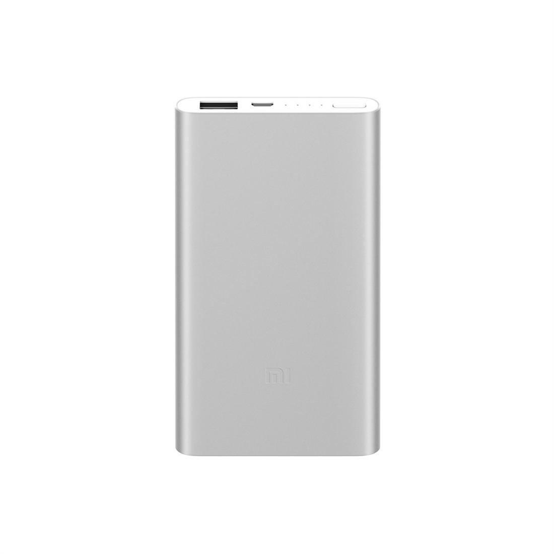 Original Xiaomi Power Bank 2 5000mAh  Fast Charge for iPhone X 8 Plus Samsung Smartphones