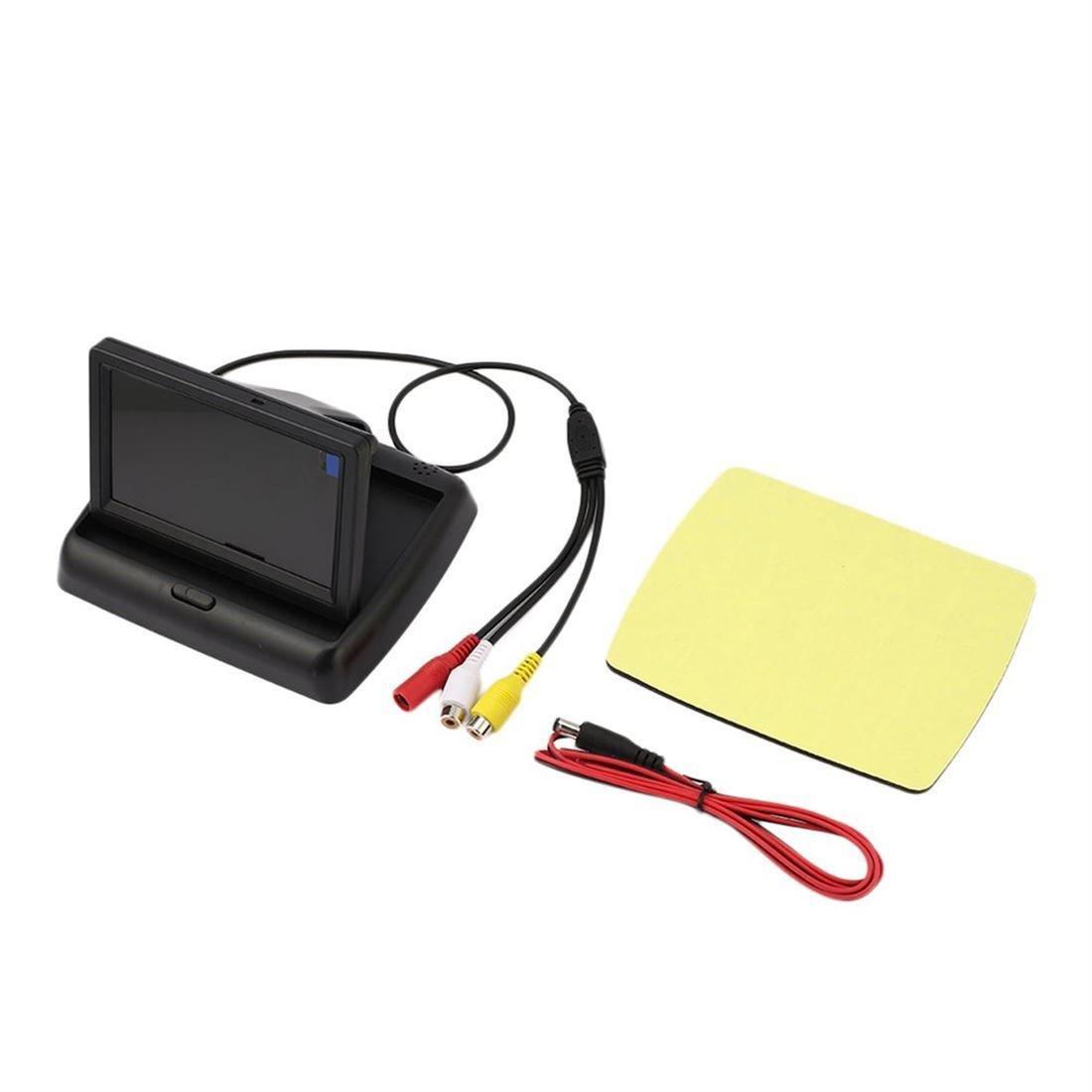 "4.3"" HD LCD Digital Folding Universal Camera Reversing Rear View Display"