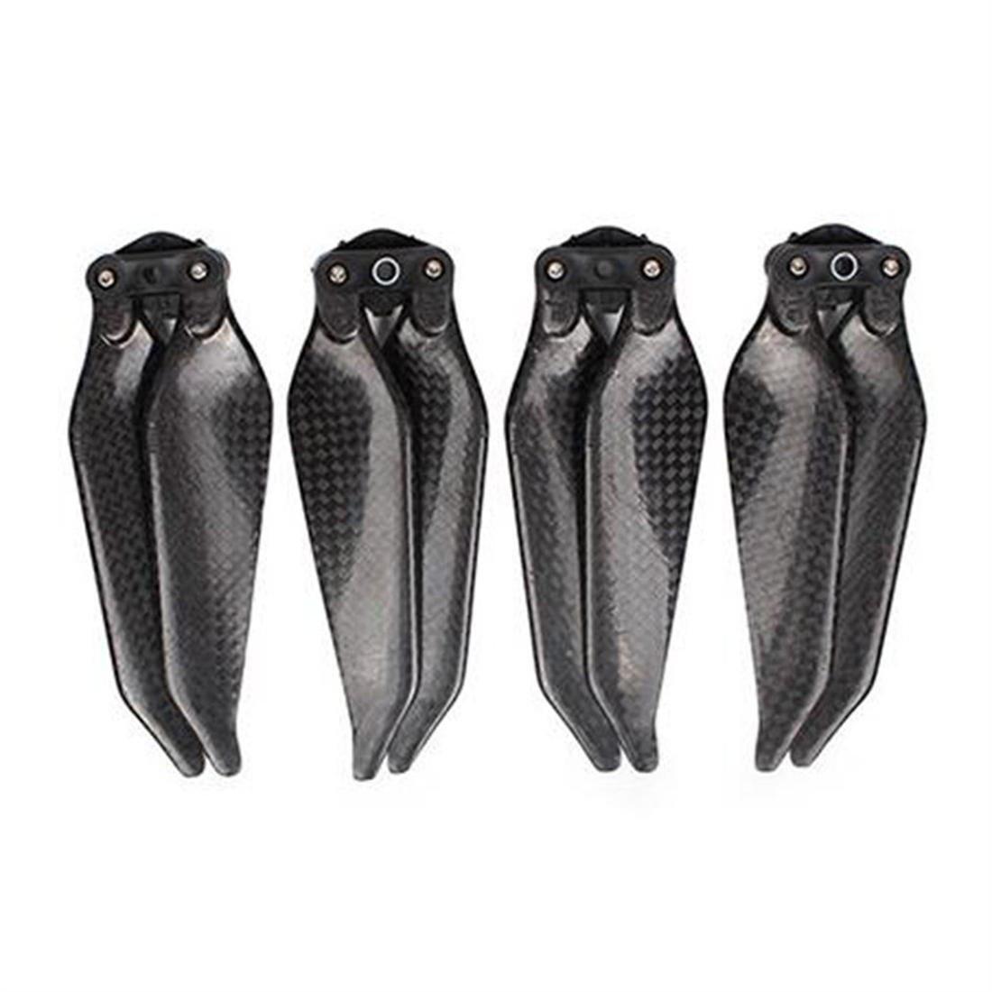 2 Pairs Low Noise Full Carbon Fiber 8331 Foldable Propellers For DJI MAVIC