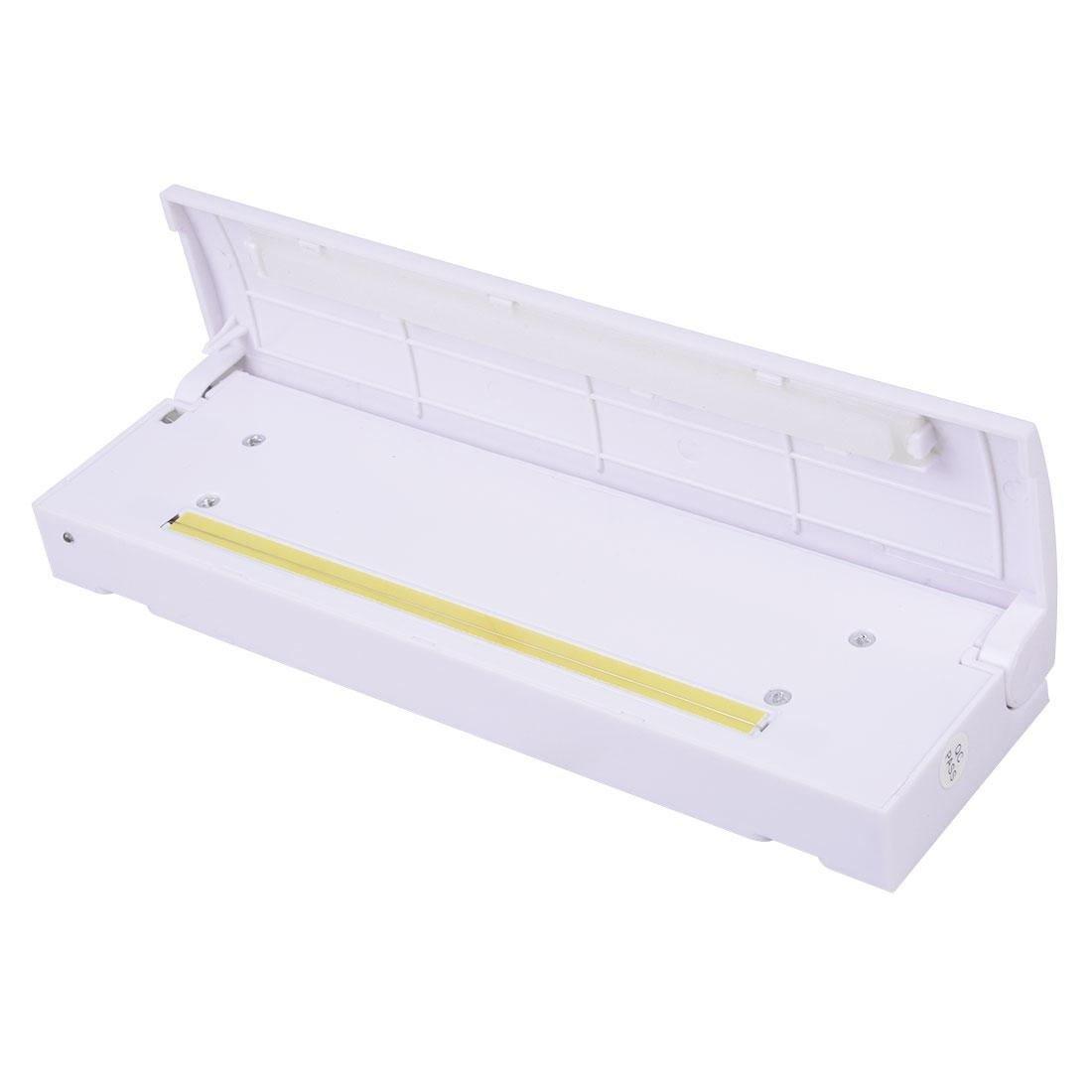 Heat Sealer Capper Plastic Bag Sealing Machine Snack Food Saver Storage Creates Airtight Containers