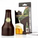 Novelty Ultrasonic Beer Foamer Canned Beer Bottle Shape Foam Maker Kitchen Bar