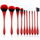 10 sets small waist set tall cup powder paint tools set red 10 sets