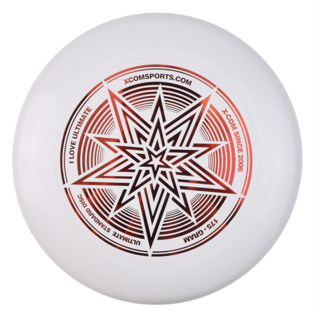 Professional Frisbee Flying Disc For Advanced Player Outdoor Sport Game Disc Saucers White
