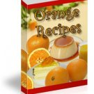 Orange Recipes eBook in PDF Format with Digital Delivery!  [Download]