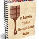 Chocolate Recipes eBook in PDF Format with Digital Delivery!  [Download]