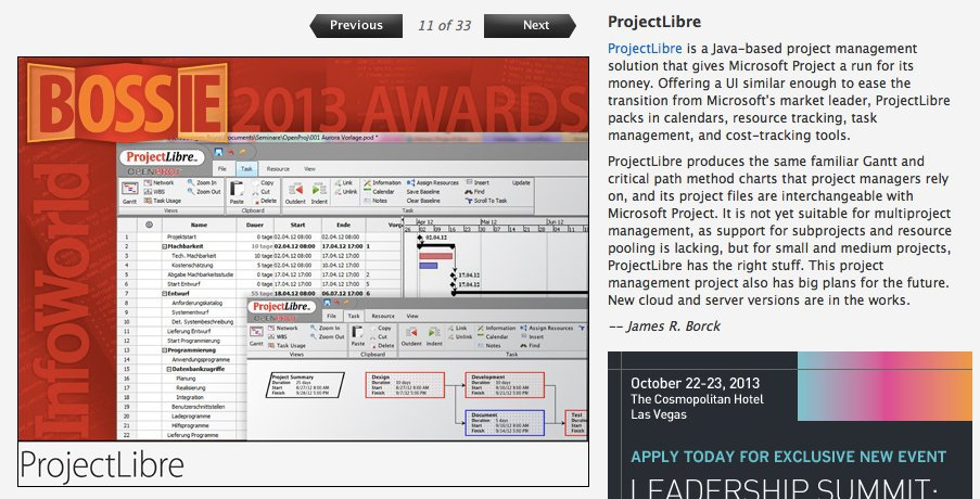ProjectLibre Software for Windows and Mac [Download]