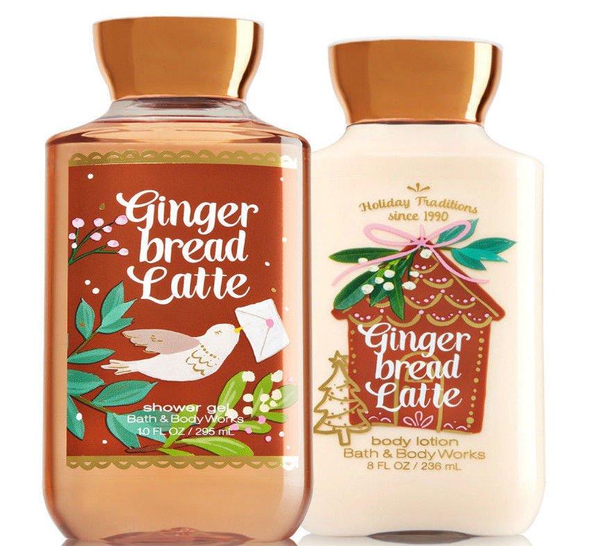Bath & Body Works Gingerbread Latte Body Lotion + Shower