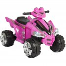 BCP 12V Kids Electric ATV Ride-On Toy w/ 2 Speeds, LED Lights