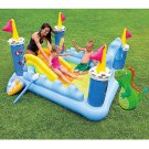 Play Fantasy Castle Inflatable Center Intex Pool Kids Water Swimming 73 X42 X60