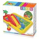 Inflatable Ocean Play Center Kids Water Pool Backyard Kiddie Slide 100 X 77 X 31