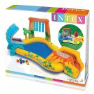 Kids Dinosaur Pool Play Center Inflatable Fun Swimming Water Slide Waterfall