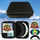 2 Pack Ski Goggles Kid Men Women Snow Snowboard Skiing Nano Microfiber Anti Fog