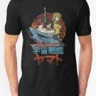 New Space Battleship Yamato Men's T-Shirt Size S - 2XL