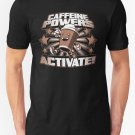 New Caffeine Powers Activate Men's T-Shirt Size S - 2XL