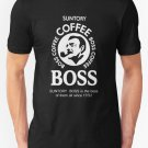 Suntory Boss Coffee Limited Edition New T-Shirt Men's Black Size S - 2XL