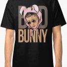 bad bunny New T-Shirt Men's Black Size S - 2XL