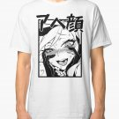 Funny Hentai Anime T-Shirts Ahegao T-Shirt Men's White