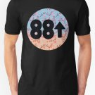 Cherry Blossoms 88Rising Logo Men's Black T-Shirt size S to 2XL