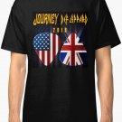 tour journey 2018 leppard Men's Black T-Shirt size S to 2XL
