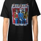 New BEE GEES WORLD TOUR Men's Black T-Shirt size S to 2XL