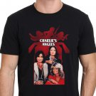 New Charlie'S Angels 1970s Classic TV show Men's Black T-Shirt size S to 2XL