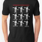 The Expressions of Tucker Carlson Men's Black Tees Shirt Clothing Size S - 2XL