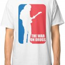 The War On Drugs - Major League Men's White Tees T-Shirt FREE SHIPPING