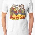 New Metal Gear Solid Seinfeld Logo Men's T-Shirt Size S-2XL