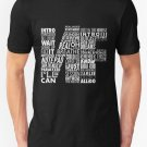 New NF  Word Collaboration Design  Men's T-Shirt Size S-2XL