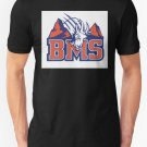 New BMS Men's T-Shirt Size S-2XL
