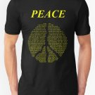 New Peace  Happy People Lyrics Men's T-Shirt Size S-2XL