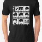 New BTS WE ARE BULLETPROOF Chibi Men's T-Shirt Size S - 2XL