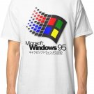 WINDOWS 95 Limited Edition New T-Shirt Men's White Size S - 2XL